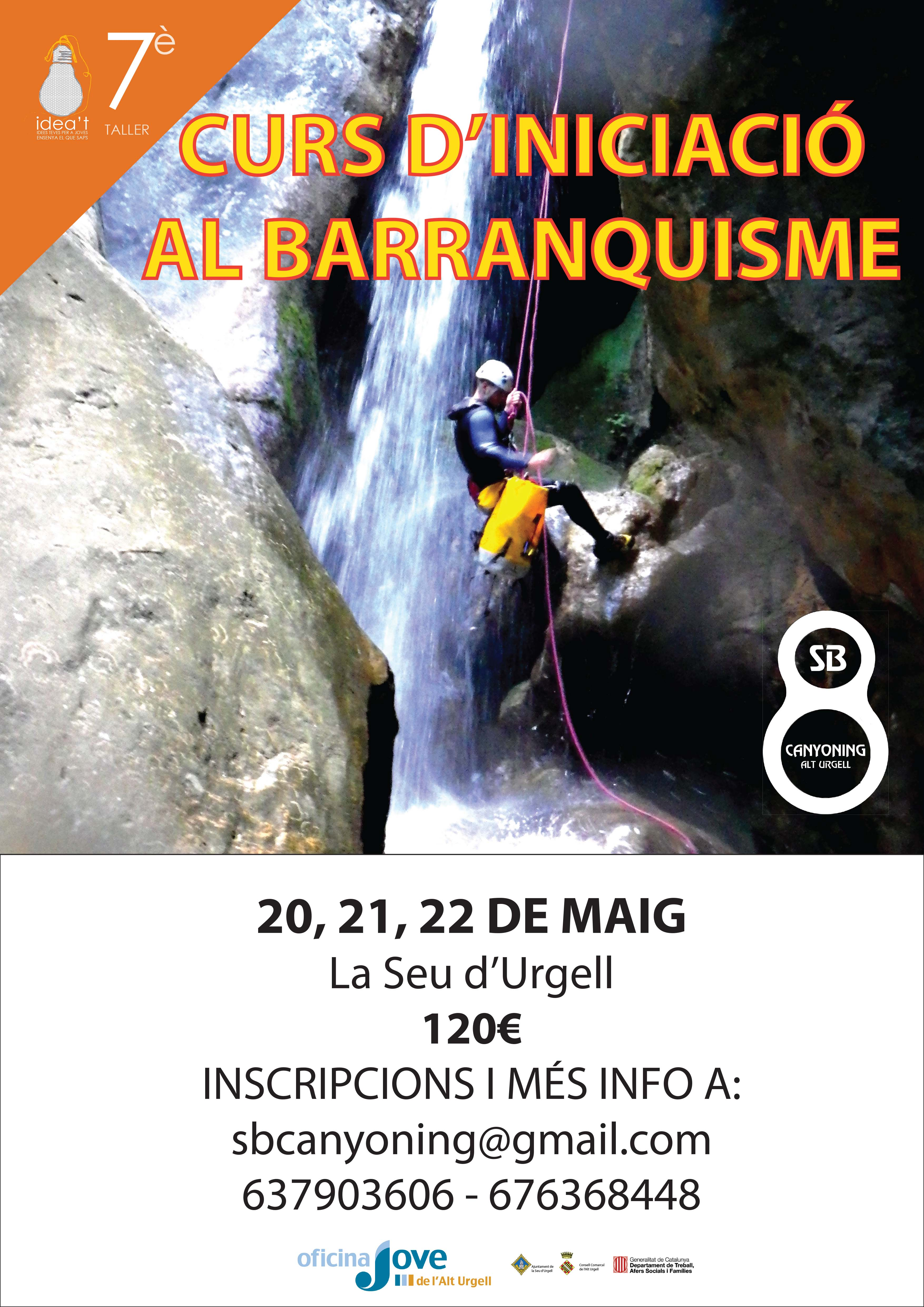 Canyoning course for beginners