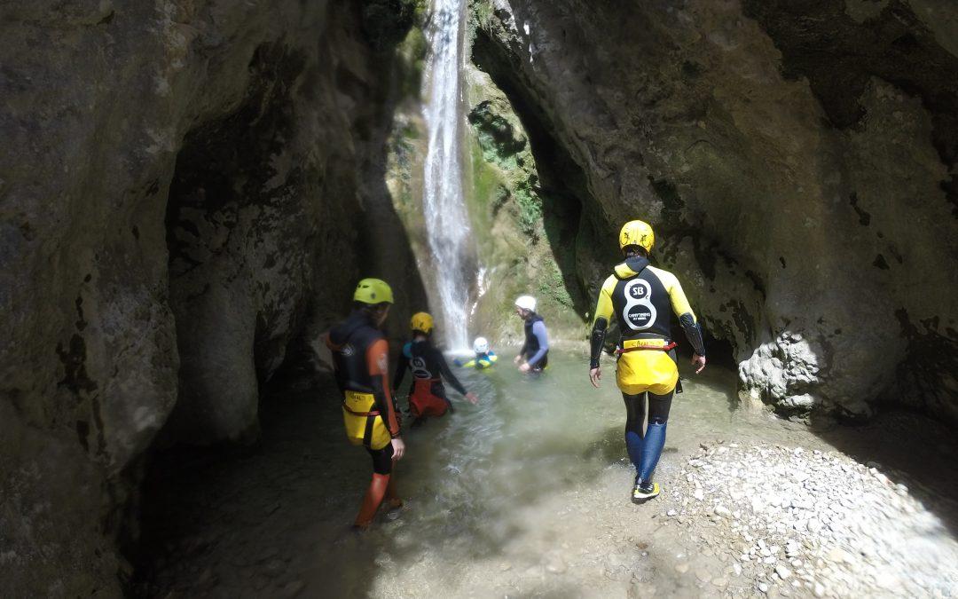 Boixols canyon history